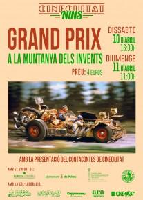 CineCiutatNins: Grand Prix a la muntanya dels invents